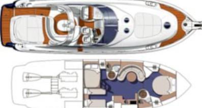 Cranchi Mediterranee 50 HT - Yacht Charter Sailica