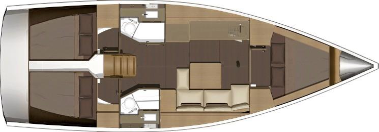 Dufour 382 GL - Yacht Charter Sailica