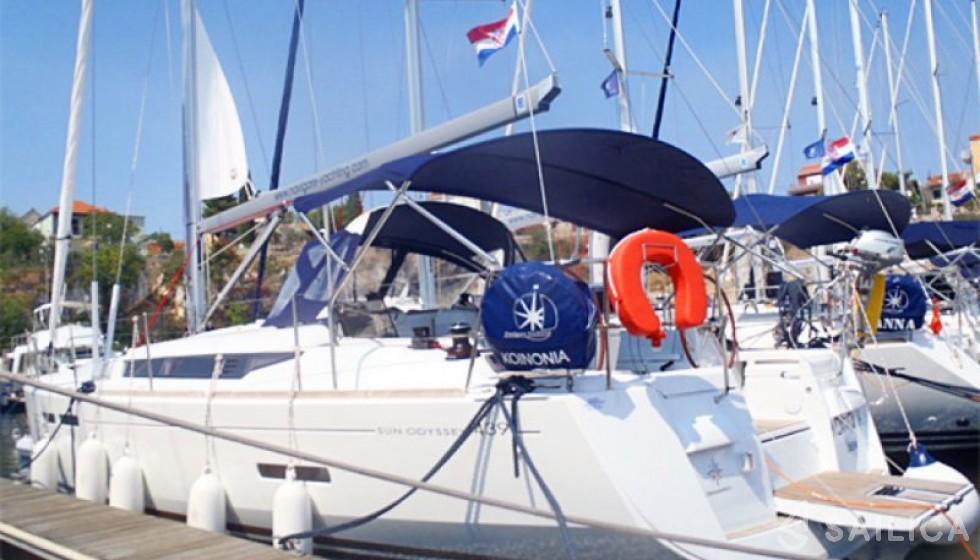 Miete Sun Odyssey 439 in Kroatien - Sailica