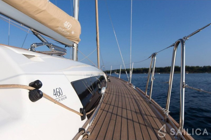 Rent Dufour 460 Grand Large in Italy - Sailica