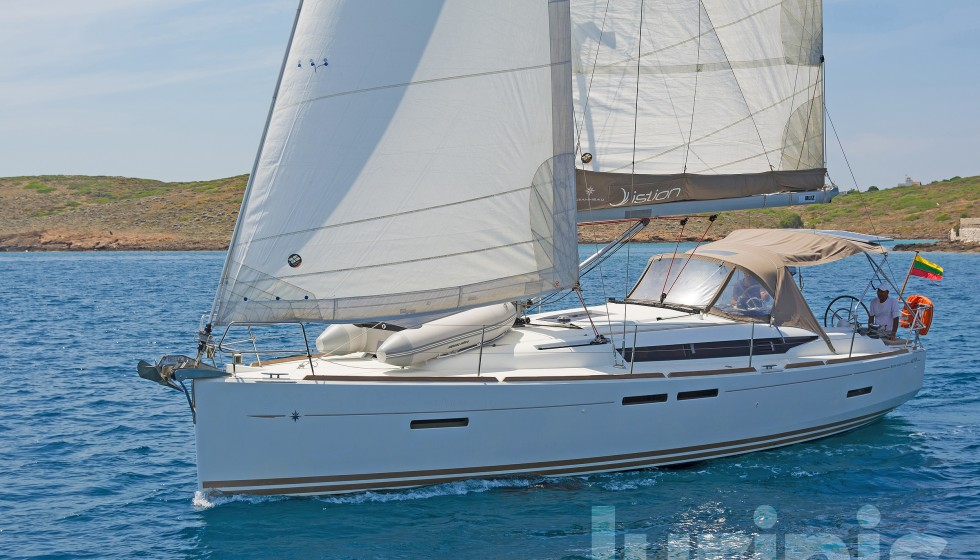 Rent Sun Odyssey 409 in Greece - Sailica