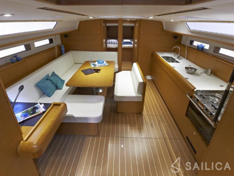 Sun Odyssey 479 - Yacht Charter Sailica