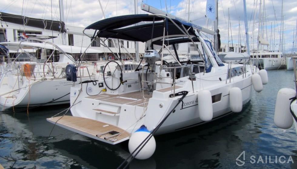 Oceanis 41.1 - Jachtcharter Sailica