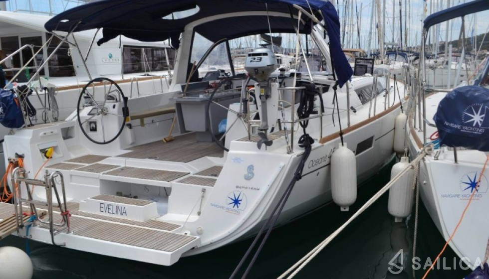 Rent Oceanis 45 in Croatia - Sailica
