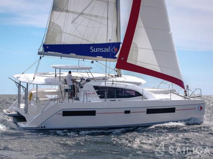 Sunsail 404 - Sailica Yacht Booking System #19
