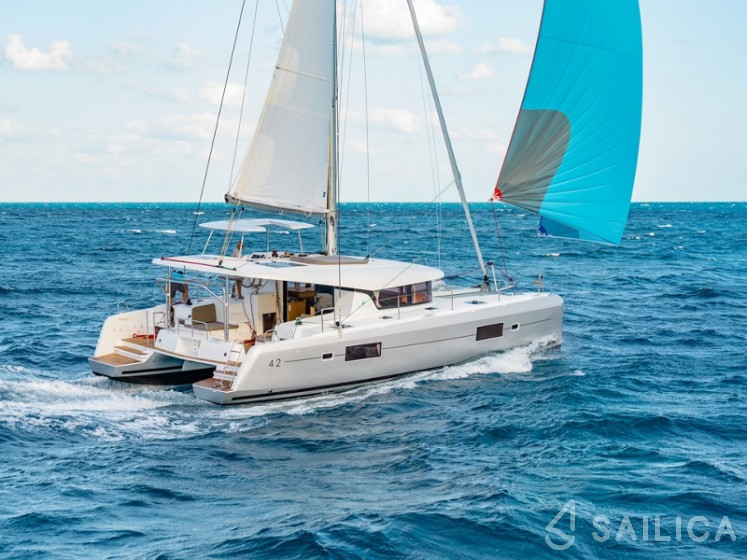 Rent Lagoon 42 in Croatia - Sailica