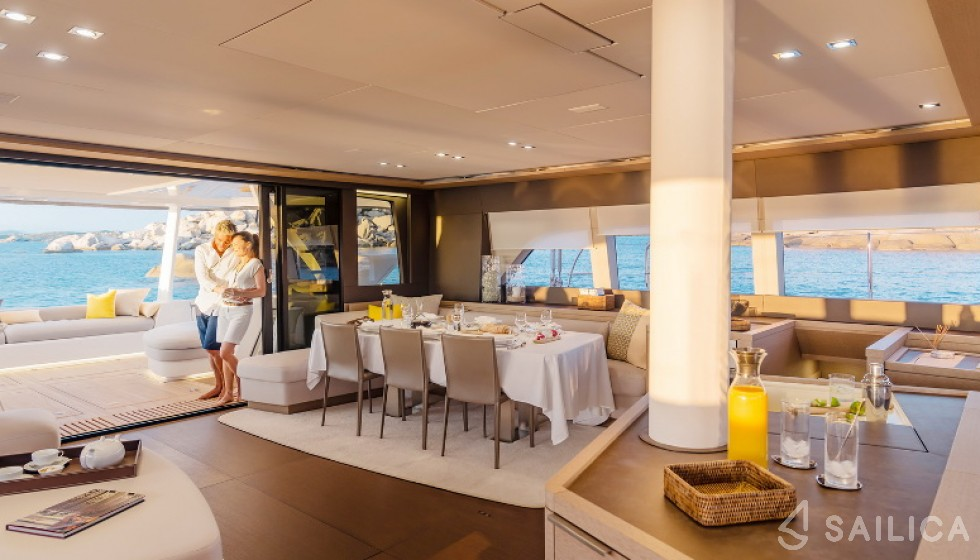 Lagoon Seventy 7 - Sailica Yacht Booking System #11