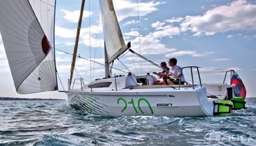 Elan 210 - Yacht Charter Sailica