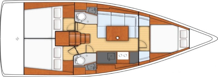 Sunsail 38 - Yacht Charter Sailica