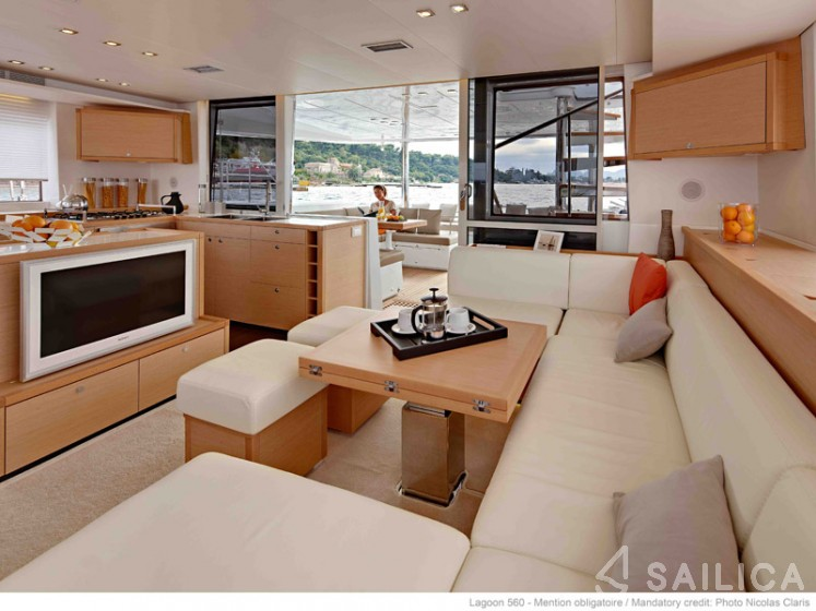 Lagoon 560 - Sailica Yacht Booking System #12