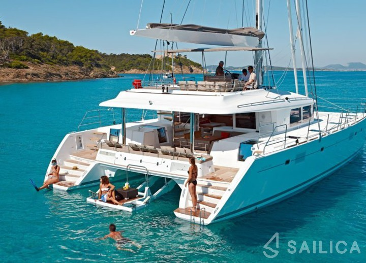 Lagoon 560 - Yacht Charter Sailica