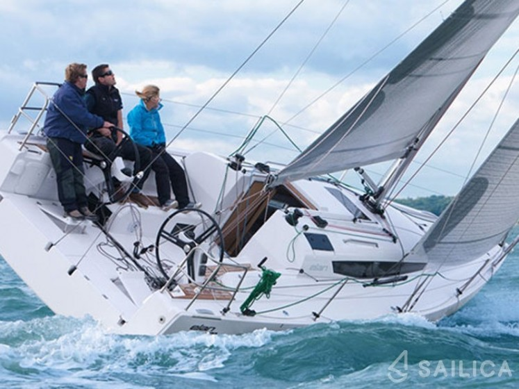 Rent Elan S3 in France - Sailica