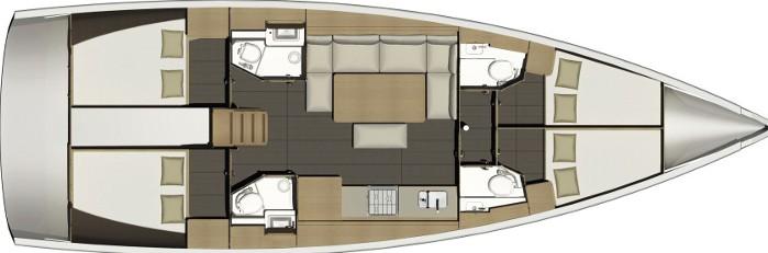 Dufour 460 - Yacht Charter Sailica