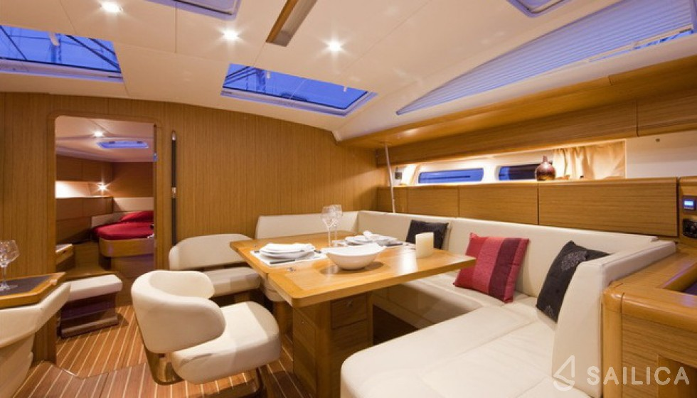 Rent Jeanneau 53 in Turkey - Sailica