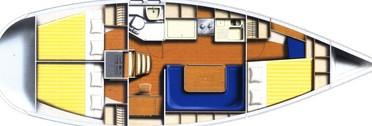 Harmony 38 - Yacht Charter Sailica