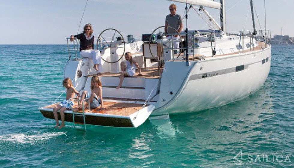 Rent Bavaria Cruiser 45 in Turkey - Sailica