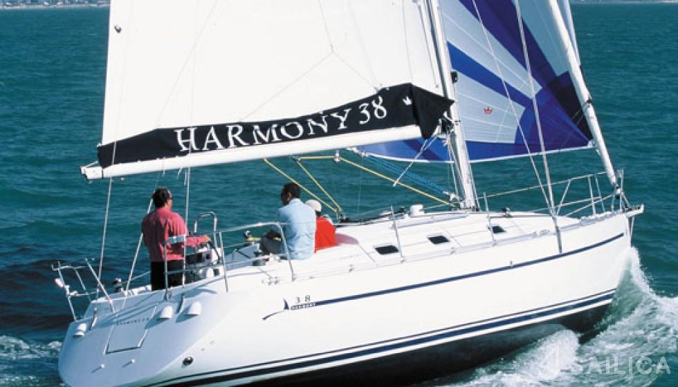 Harmony 38 in Marina Baotic - Sailica