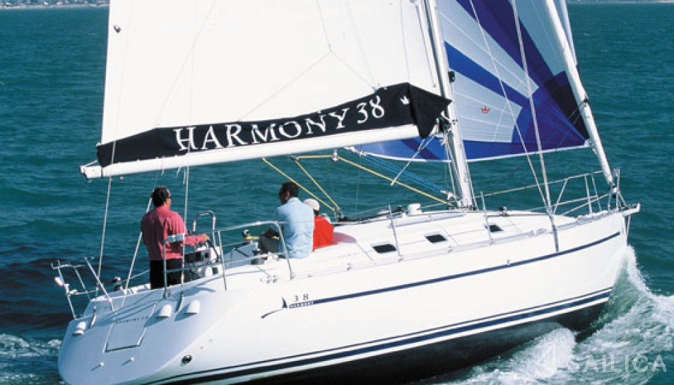 Harmony 38 - Sailica Yacht Booking System #14