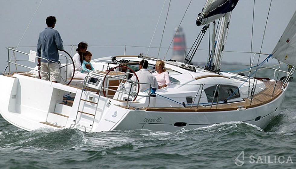 Oceanis 40 - Jachtcharter Sailica