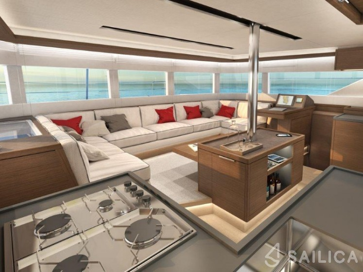Rent Lagoon 50 in Italy - Sailica