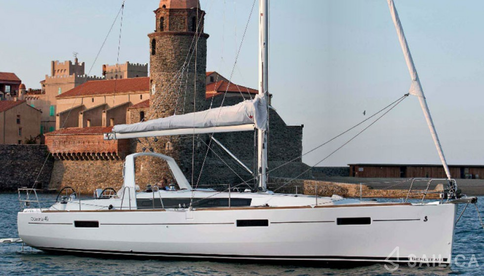 Oceanis 41 - Jachtcharter Sailica