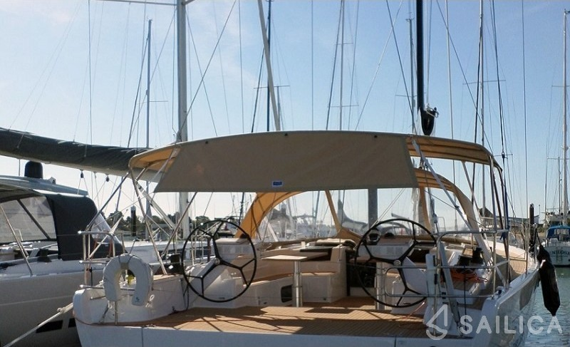 Hanse 575 - Чартер яхт Sailica
