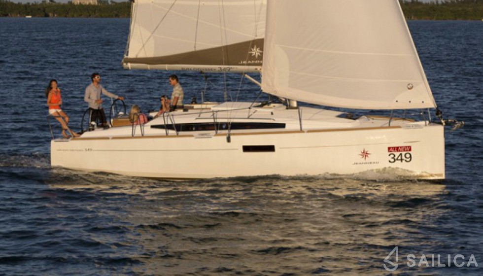 Sun Odyssey 349 - Sailica Yacht Booking System #16