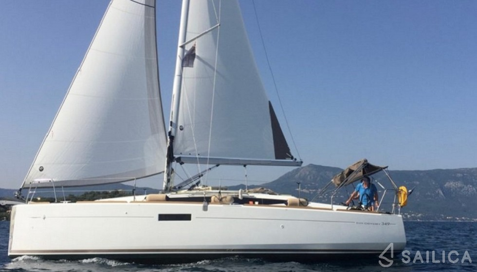 Sun Odyssey 349 - Sailica Yacht Booking System #13