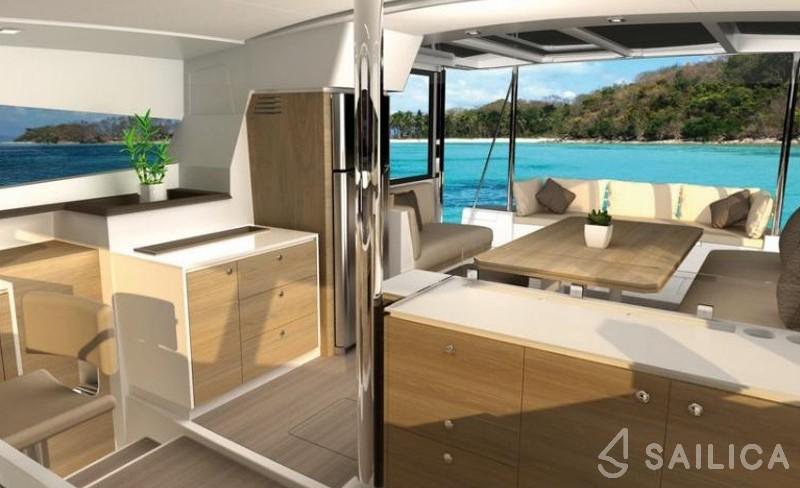 Bali 4.1 Sa - Yacht Charter Sailica