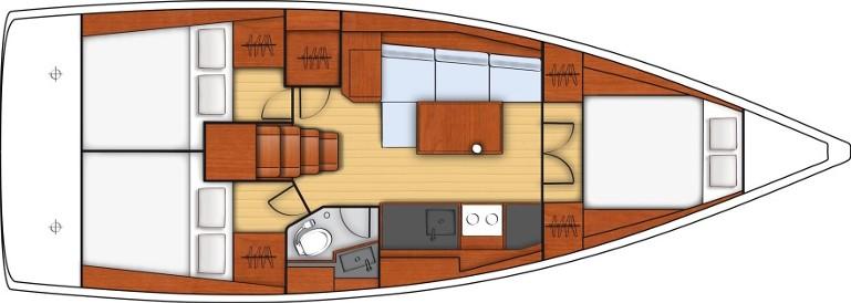 Oceanis 38.1(6) - Yacht Charter Sailica