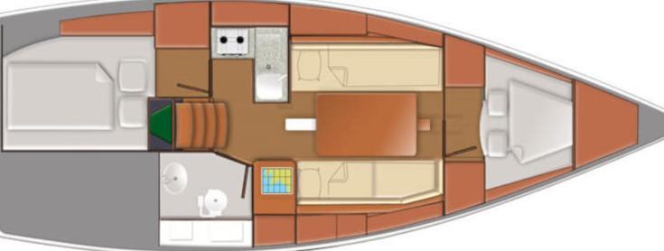 Sun Odyssey 319 - Yacht Charter Sailica