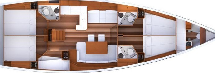 Jeanneau 53 - Yacht Charter Sailica