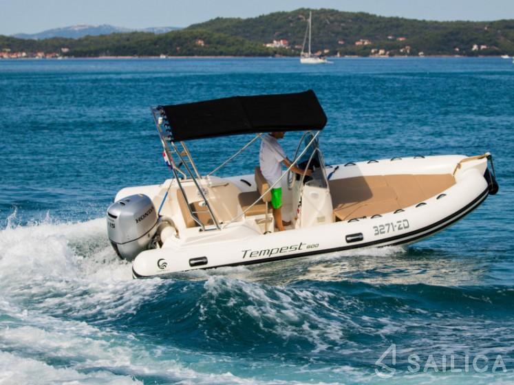 Capelli TE 600 + Mercury 115 - Sailica Yacht Booking System #7