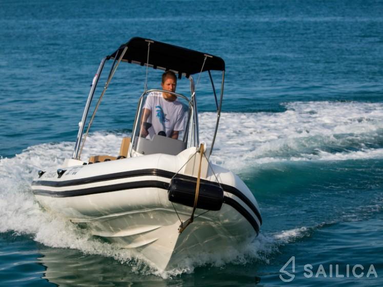 Capelli TE 600 + Mercury 115 - Yacht Charter Sailica