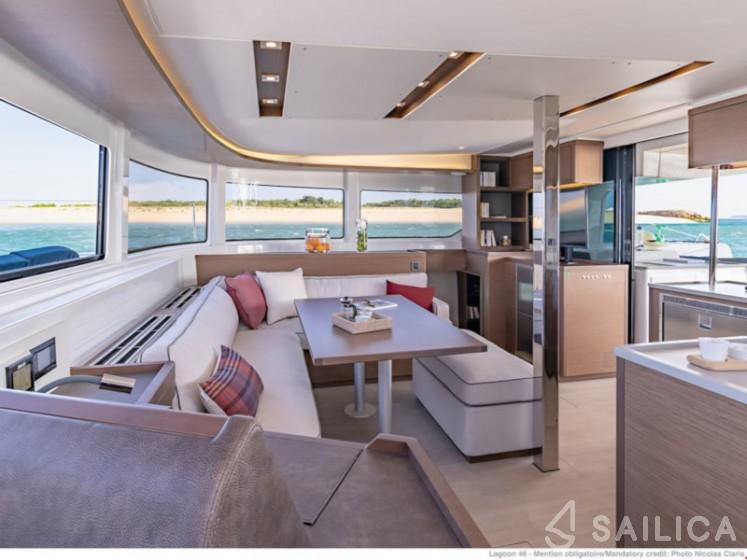 Lagoon 46  - Yacht Charter Sailica