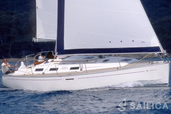 Dufour 385 - Yacht Charter Sailica