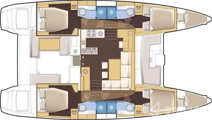 Lagoon 450 - Yacht Charter Sailica