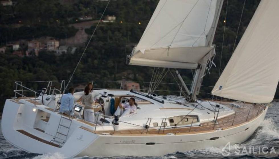 Oceanis 54 - Чартер яхт Sailica