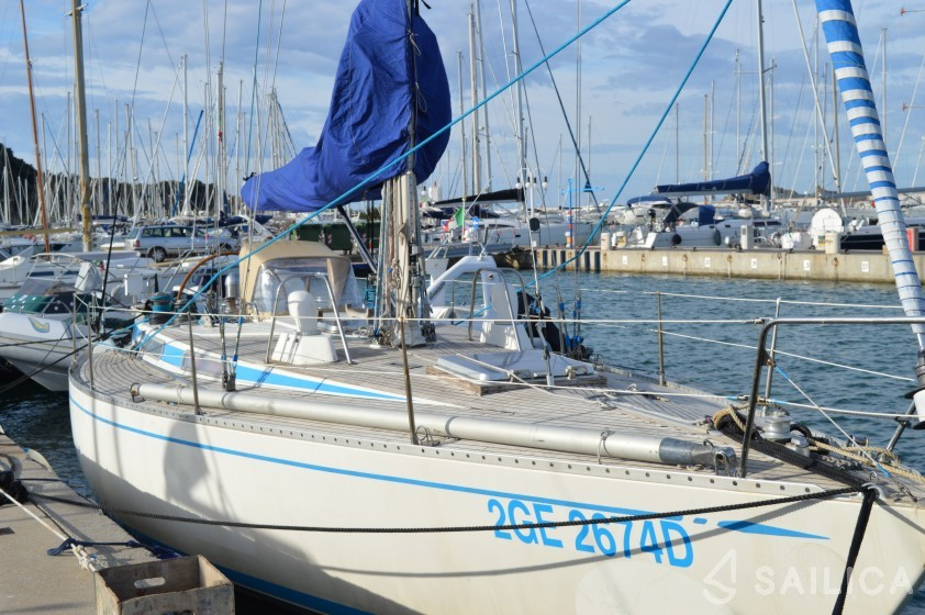 Rent Swan 39 in Italy - Sailica