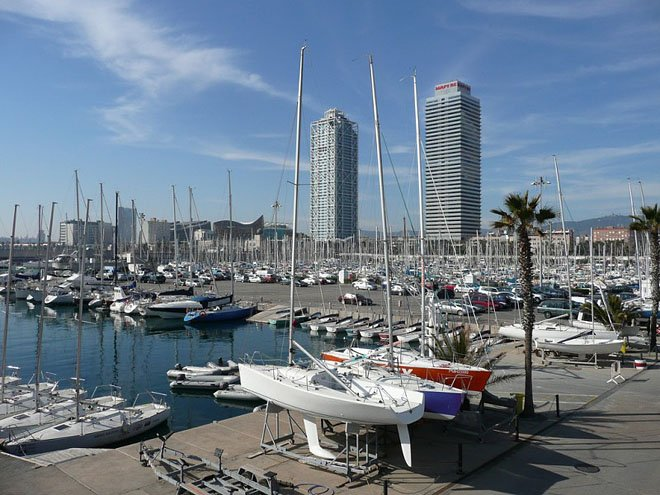 Port Olimpic - Yacht Charter Sailica