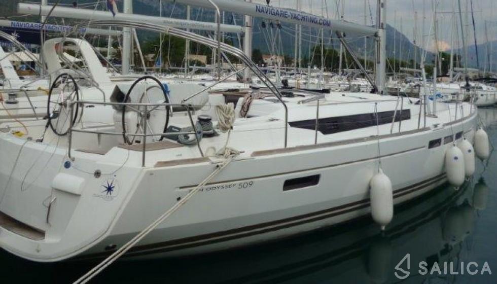 Sun Odyssey 509 - Jachtcharter Sailica