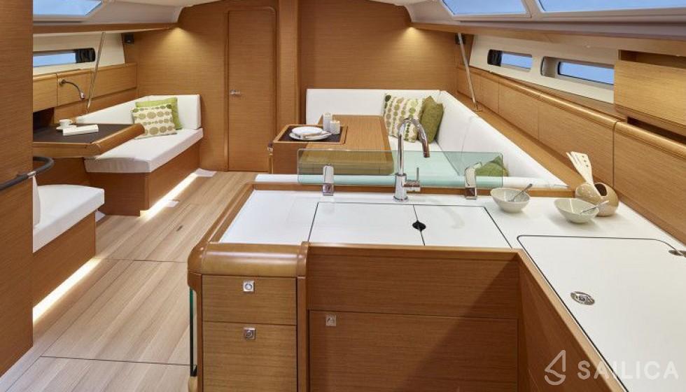 Rent Sun Odyssey 449 in Sweden - Sailica