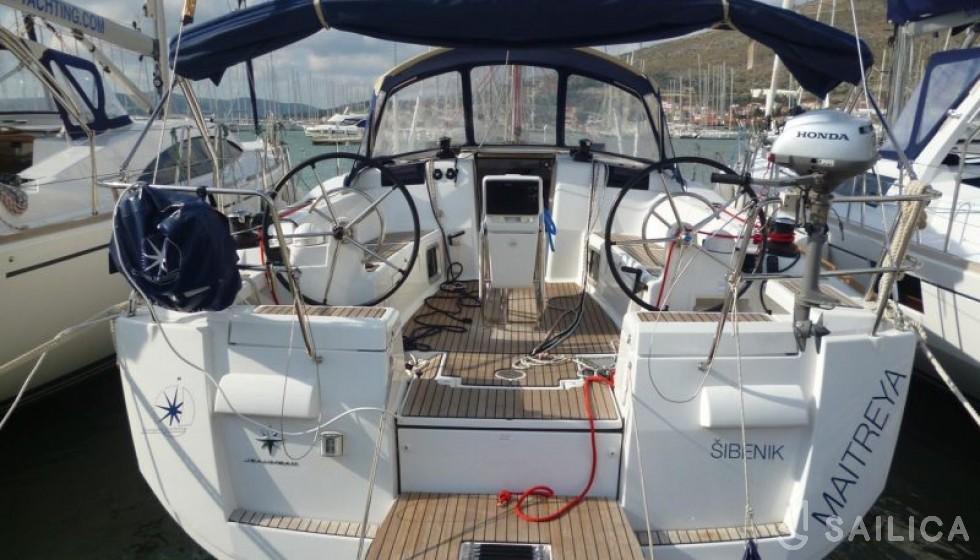 Sun Odyssey 439 - Jachtcharter Sailica
