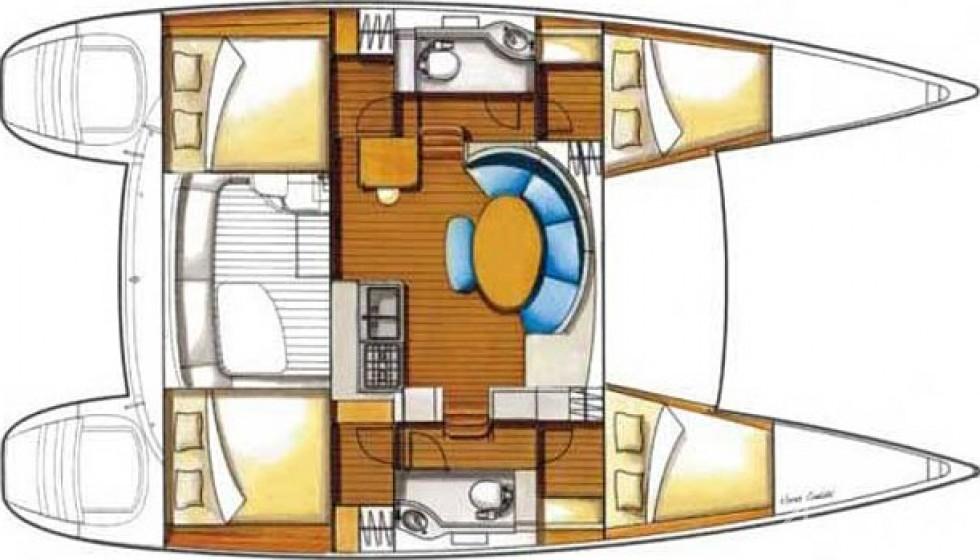 Rent Lagoon 380 in Spain - Sailica