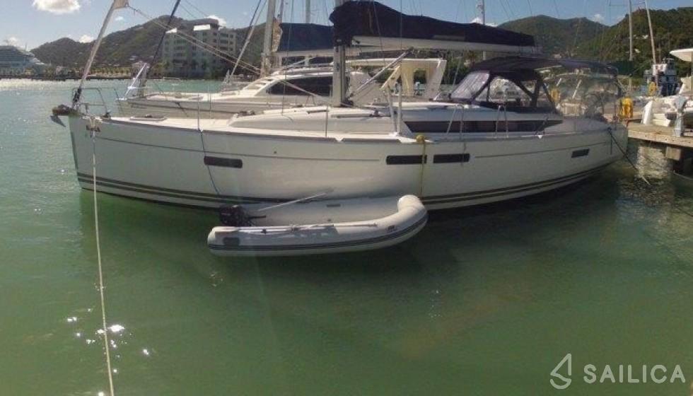 Rent Sun Odyssey 469 in British Virgin Islands - Sailica