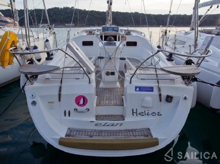 Elan 344 Impression - Yacht Charter Sailica