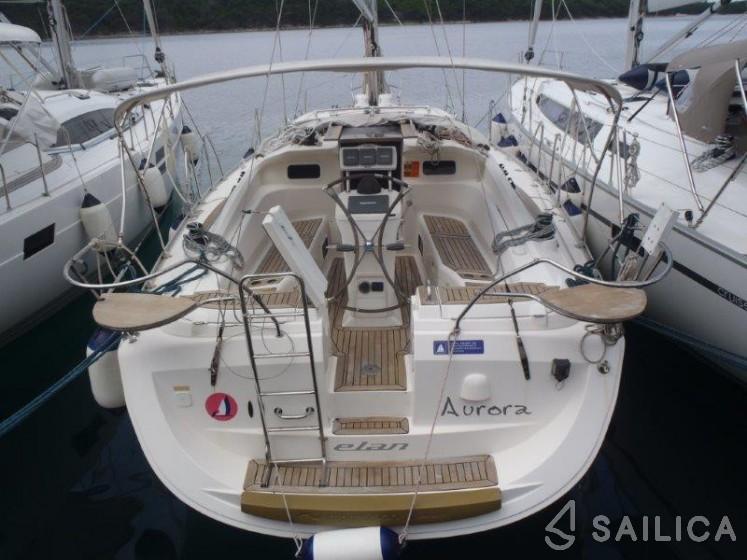 Elan 384 Impression - Yacht Charter Sailica