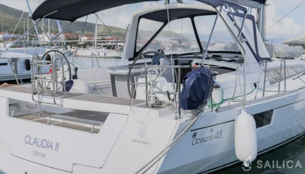 Oceanis 48-4 - Sailica Yacht Booking System #18