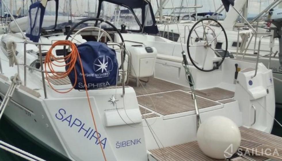 Miete Sun Odyssey 509 in Kroatien - Sailica