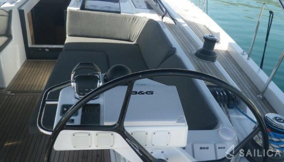 Rent Hanse 575 in Croatia - Sailica